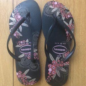 Havaianas flip flops women's sz 7/8